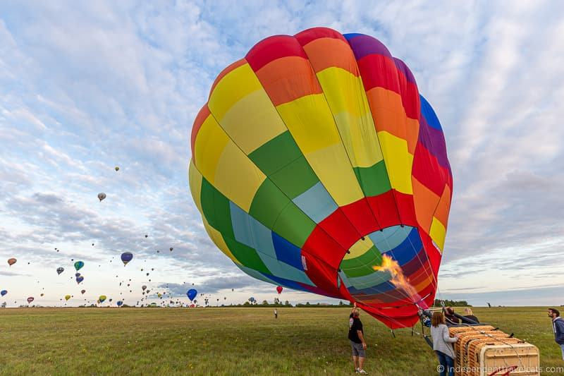 Grand Est Mondial Air Balloons hot air balloon festival France