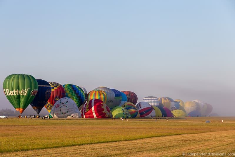 La Grande Ligne Grand Line mass ascent Grand Est Mondial Air Balloons hot air balloon festival France