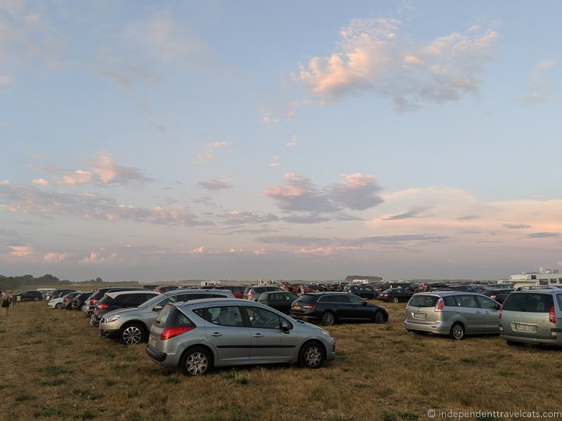 festival parking in field Grand Line Grand Est Mondial Air Balloons hot air balloon festival France