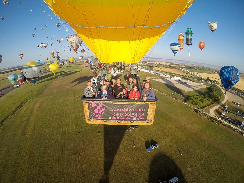hot air balloon flight Grand Line Grand Est Mondial Air Balloons hot air balloon festival France