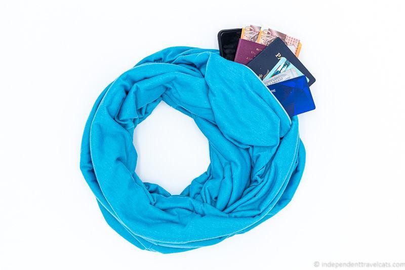 hidden pocket travel scarf best travel scarves for traveling