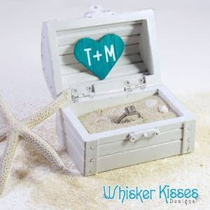 beach ring box beach wedding travel themed wedding destination wedding