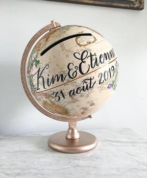 wedding card globe travel themed wedding destination wedding