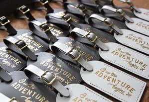 luggage tag wedding favor travel themed wedding destination wedding