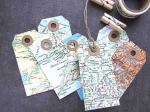map tags travel themed wedding destination wedding