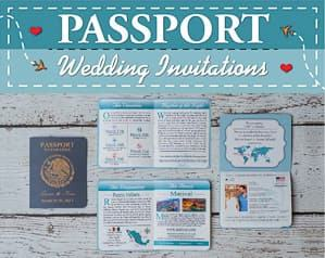 passport wedding invitations travel themed wedding destination wedding
