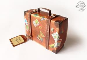 suitcase wedding favor box travel themed wedding destination wedding