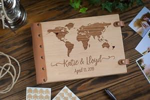 wedding guest book travel themed wedding destination wedding
