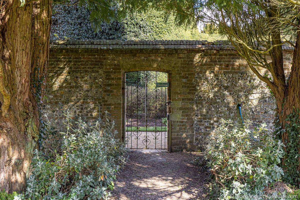 The Secret Garden gate filming location Highclere Castle