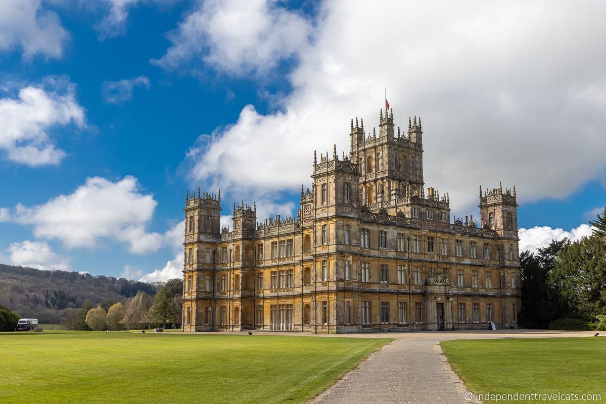 Highclere Castle Downton Abbey photo