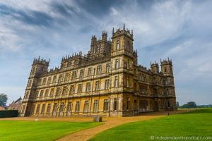 Highclere Castle real Downton Abbey filming location