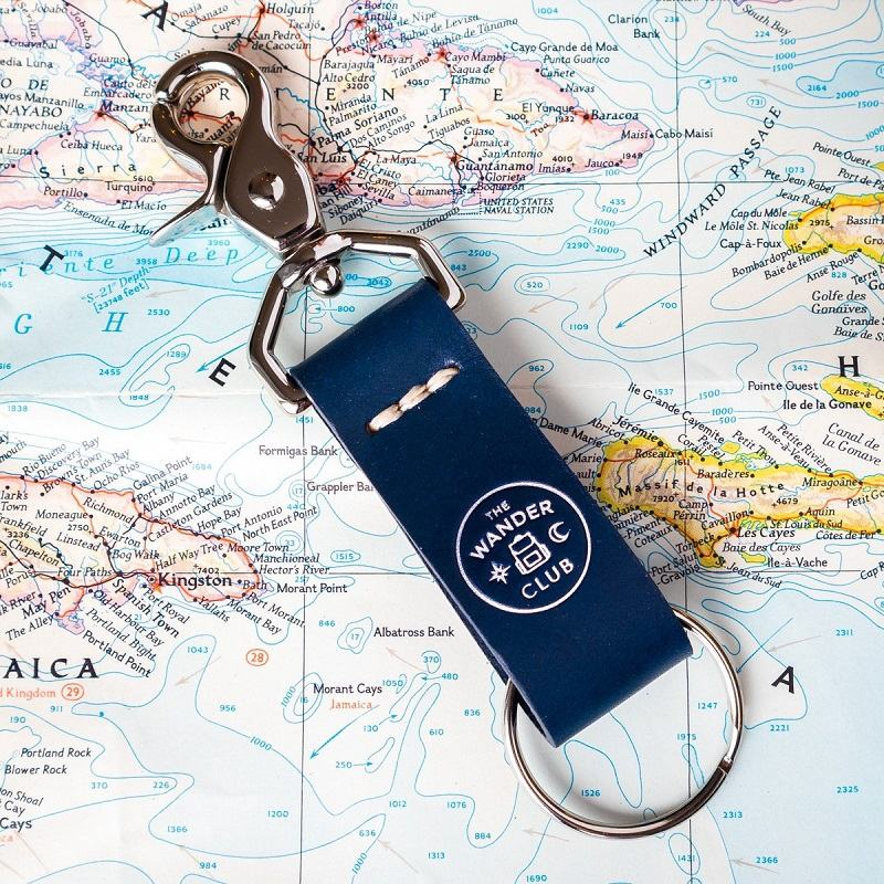 The Wander Club Wanderchain keychain
