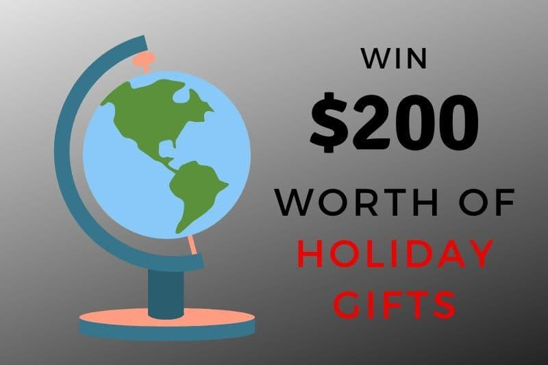 travel holiday gift giveaway