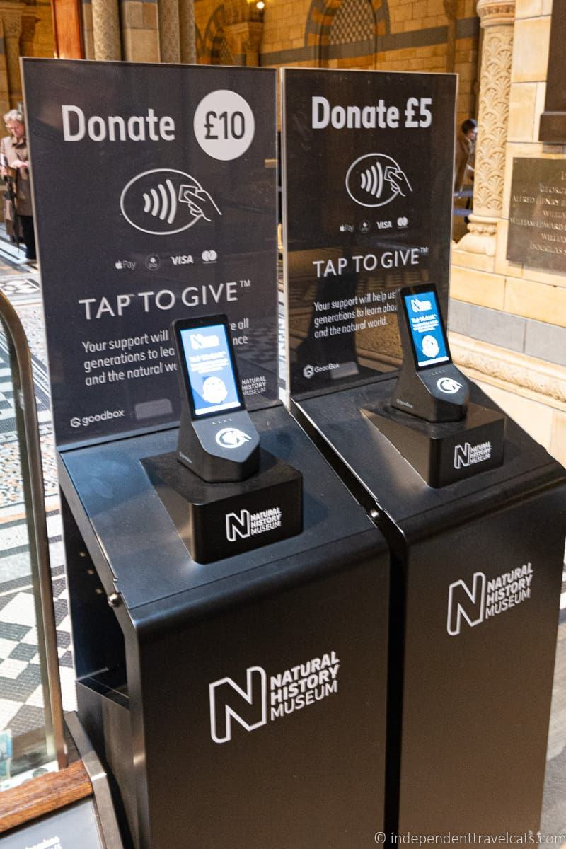 museum contactless donation box museum funding museum costs museum donations from visitors free museums