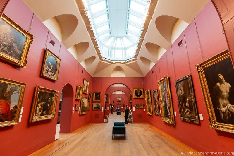 Dulwich Picture Gallery museum funding museum costs museum donations from visitors free museums
