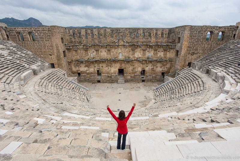 Aspendos Roman Theater Amphitheatre Antalya 2 weeks in Turkey itinerary
