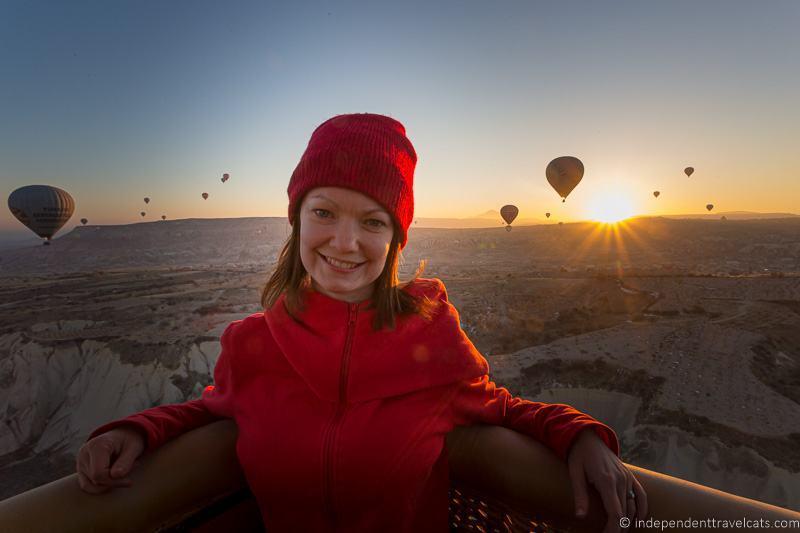 Cappadocia hot air balloon flight 2 weeks in Turkey itinerary
