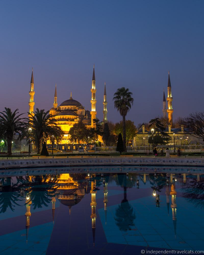 Blue Mosque Istanbul Turkey 2 weeks in Turkey itinerary