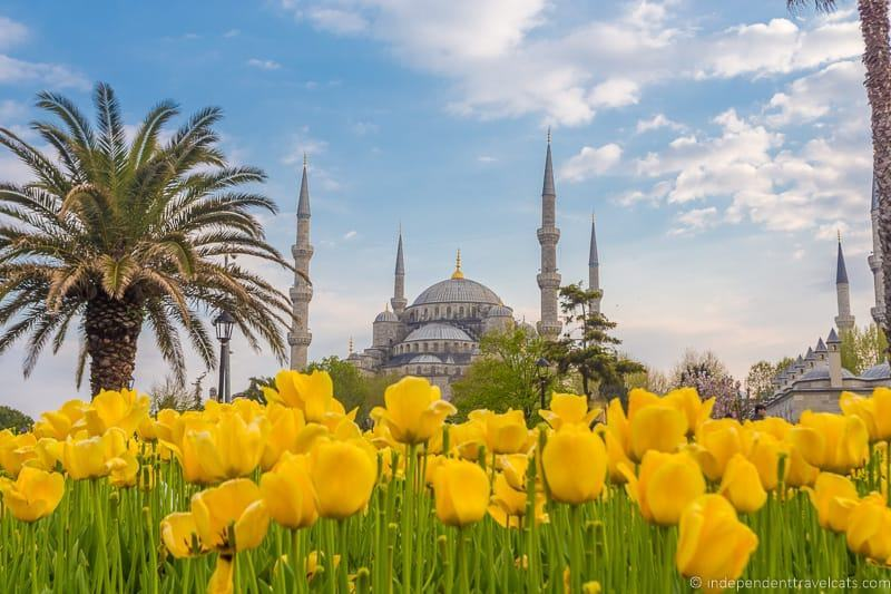 Blue Mosque Turkey 2 weeks in Turkey itinerary Sultan Ahmed Mosque