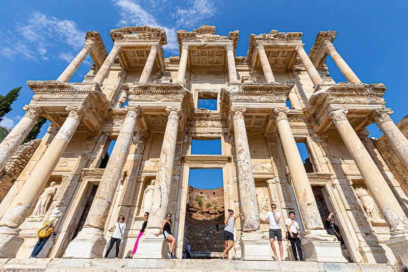 2 weeks in Turkey itinerary 14 day Turkey trip Ephesus Celsus Library