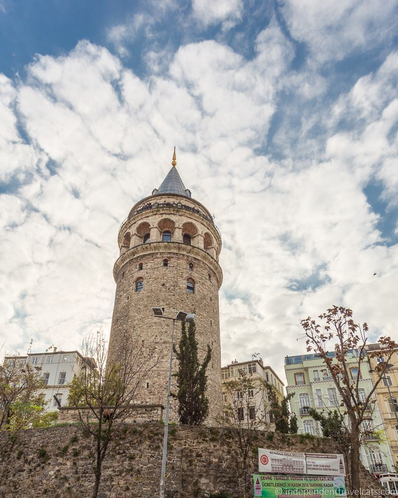 Galata Tower Istanbul 2 weeks in Turkey itinerary