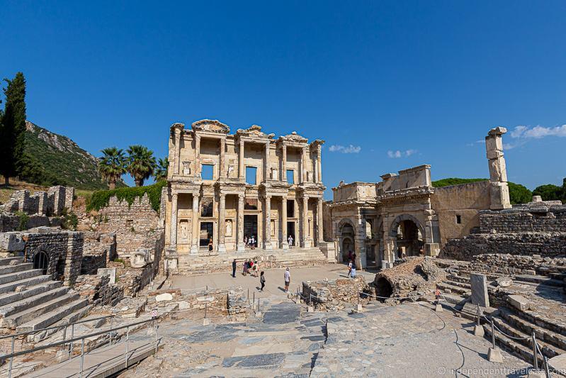 Ephesus Celsus Library 2 weeks in Turkey itinerary2 weeks in Turkey itinerary