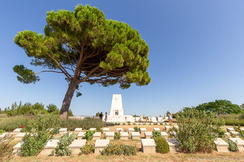 Lone Pine cemetery 2 weeks in Turkey itinerary