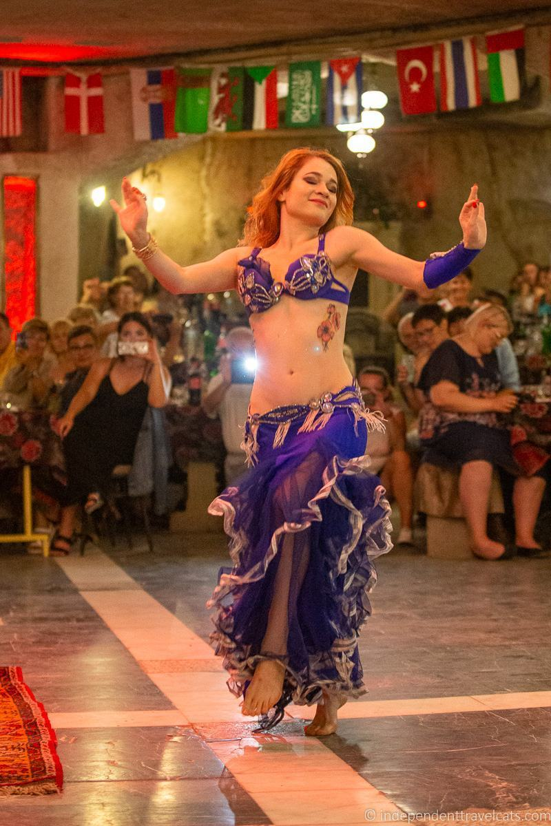 belly dancer 2 weeks in Turkey itinerary