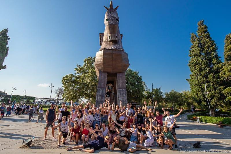 Travel Talk Turkey Tour group 2 weeks in Turkey