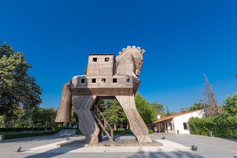 Trojan Horse Troy 2 weeks in Turkey itinerary