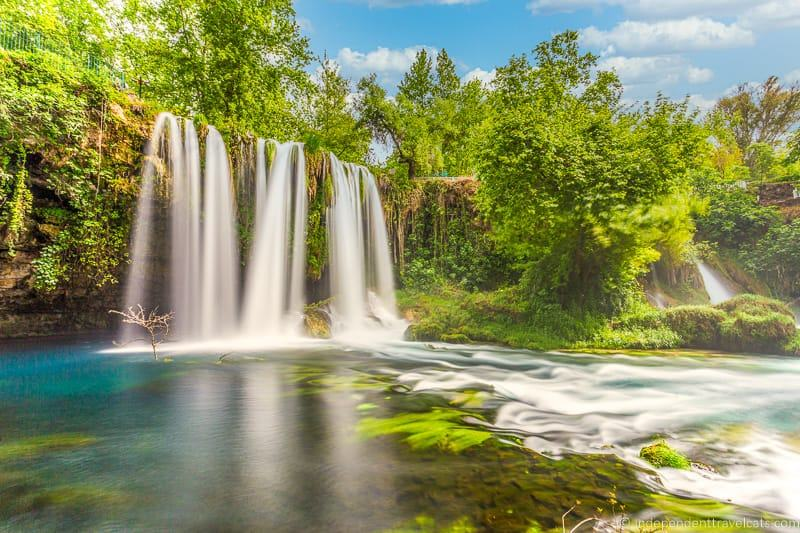 Upper Duden Waterfall Antalya 2 weeks in Turkey itinerary
