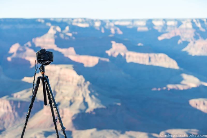 best travel tripod Grand Canyon travel photography