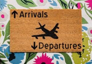 pilot airplane doormat welcome mat travel themed home decor handmade travel home decorations furnishings
