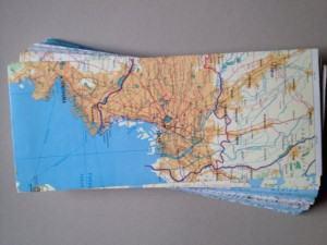 atlas envelopes stationery travel themed home decor handmade travel home decorations furnishings