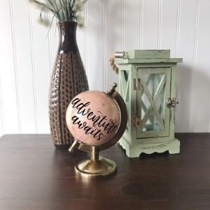 mini globe desk travel themed home decor handmade travel home decorations furnishings