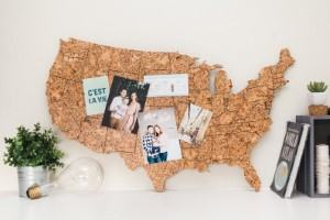 map cork board dorm office travel themed home decor handmade travel home decorations furnishings