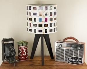photo slide lamp shade travel themed home decor handmade travel home decorations furnishings