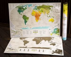 scratch off map world map travel themed home decor handmade travel home decorations furnishings