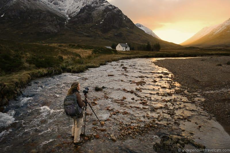 Laurence Norah travel photographer best travel tripods Scotland