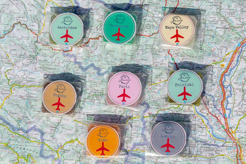 travel themed soaps travel soaps