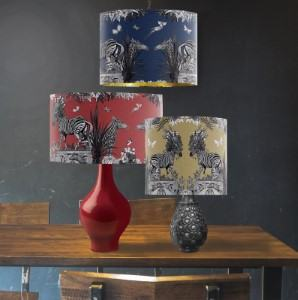 zebra lamp shade travel themed home decor handmade travel home decorations furnishings