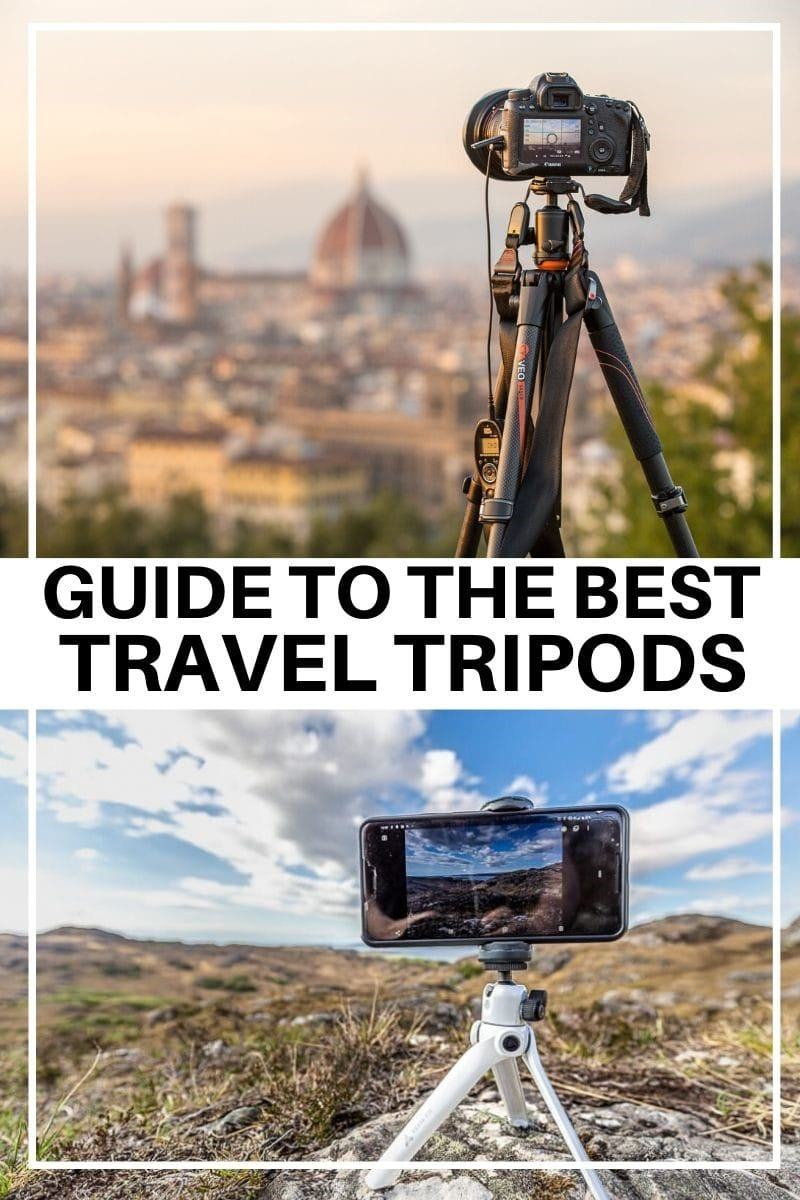 A guide to the best travel tripods on the market. Travel tripods are an essential tool for many travelers who want to improve their photography. We share everything you need to know about choosing a tripod for traveling, including what things to look for and what to consider when buying a tripod. We'll also share our list of the best travel tripods across a range of budgets, so you can pick the best one for you. #traveltripod #tripod #travel #travelphotography #photography #minitripod