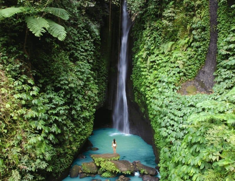 Forever Vacation Bali waterfall tour