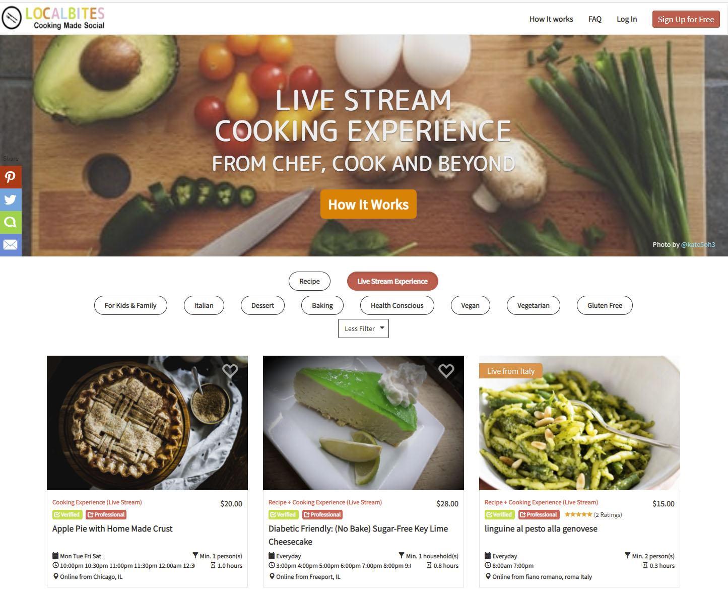 Localbites website