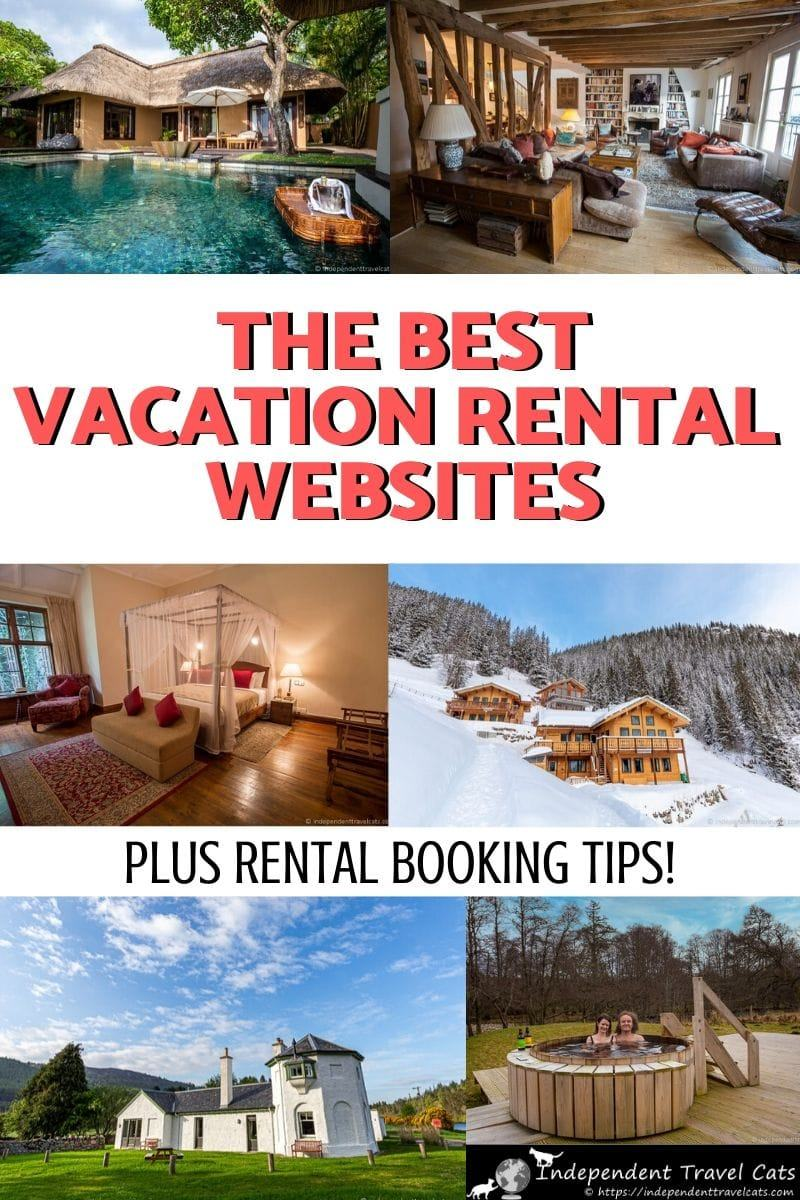 We've put together a list of some of the best vacation rental websites where you can book your dream holiday home, cabin, apartment, cottage, or villa. If you are looking for a self-catering stay for your next trip, we have you covered. We list the best vacation rental websites out there and provide details on each vacation rental company. We also give you lots of tips on booking vacation homes online. #vacationrentals #holidayhomes #travel #vacationrentalwebsites #Airbnb #Vrbo #vactionhomes