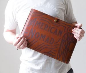 travel laptop case made in USA gift for nomad