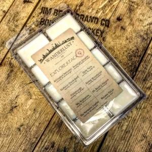Wanderlust Scents wax melts travel gifts made in USA