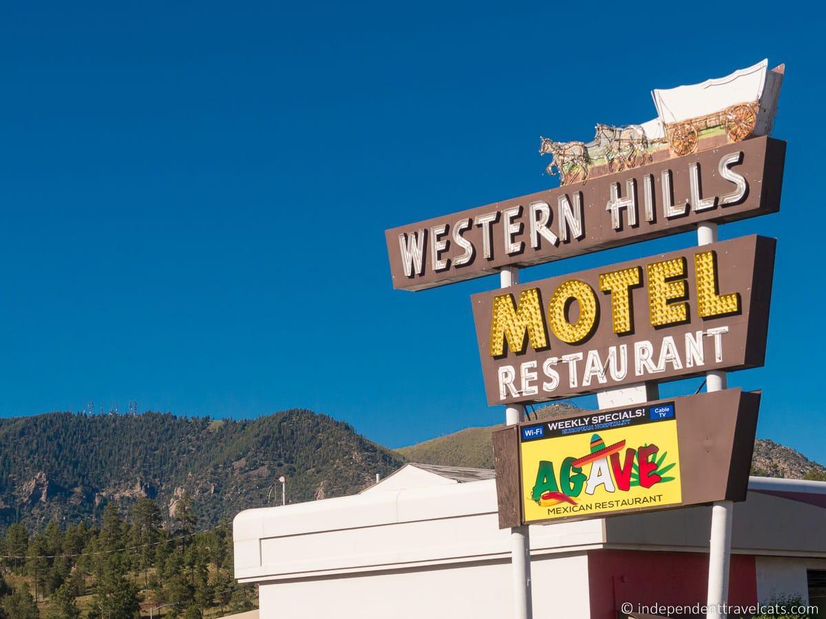 Western Hills Motel in Flagstaff Arizona Route 66 motels hotels