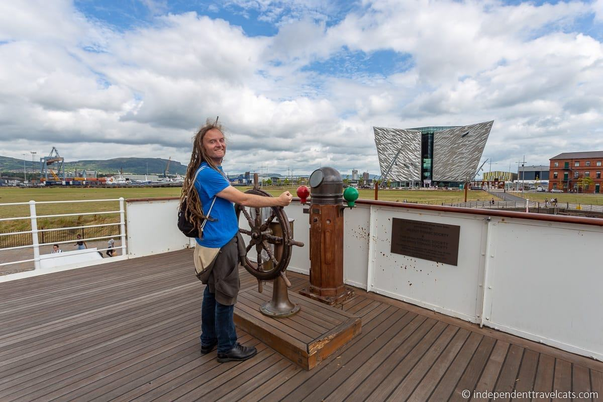 SS Nomadic Titanic sites in Belfast martime attractions Northern Ireland