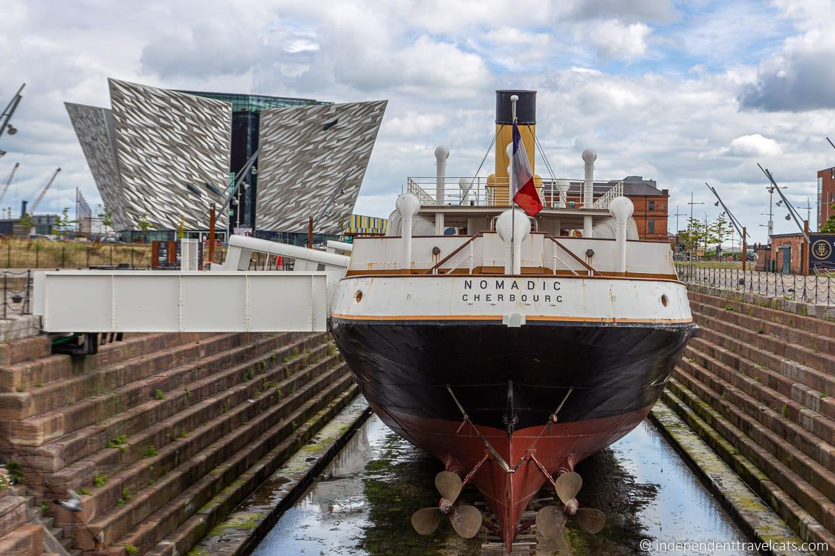 SS Nomadic Titanic tender boat Titanic sites in Belfast martime attractions Northern Ireland